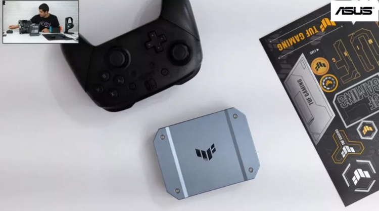 ASUS готовит свою первую карту захвата изображения — компактную внешнюю модель TUF Gaming CUK430