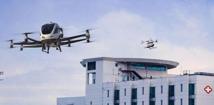 Китайские аэротакси оказались единственными кандидатами для демонстрации медицинской беспилотной авиации в Европе