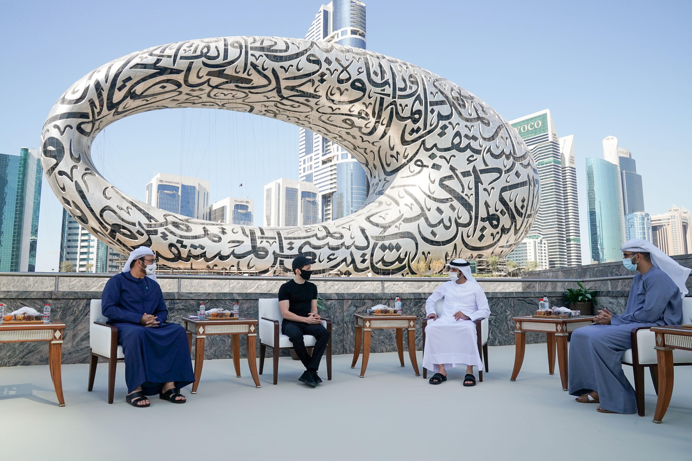 Наследный принц Дубая встретился с Павлом Дуровым