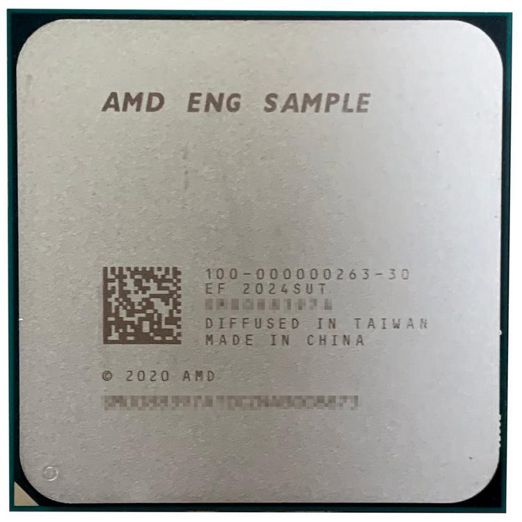 AMD готовит настольные Ryzen PRO 5000G — восьмиядерная модель отметилась в CPU-Z