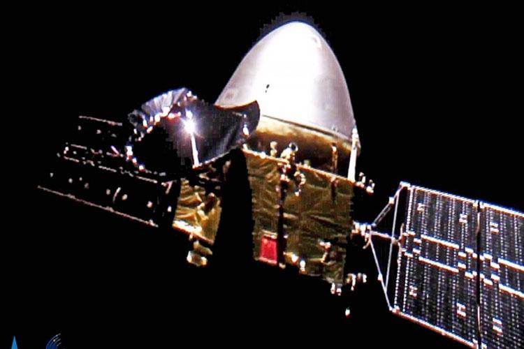 Китайская станция Тяньвэнь-1 успешно вышла на орбиту Марса