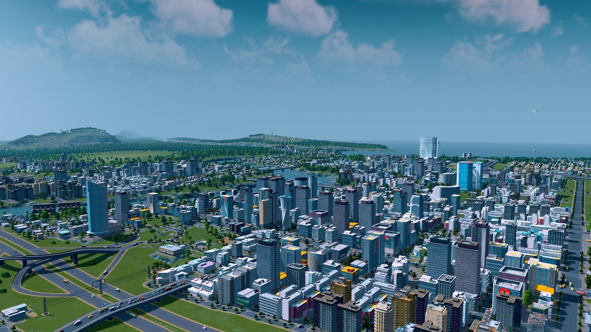 Градостроительный симулятор Cities: Skylines стал временно бесплатным в Steam