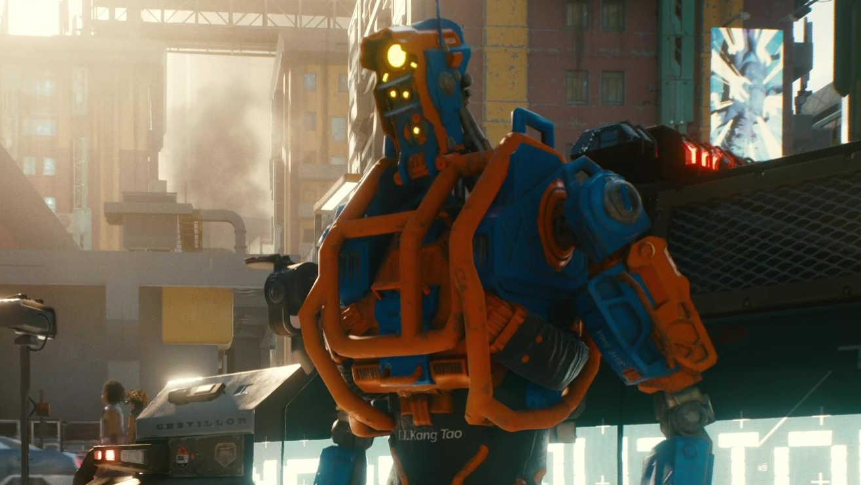 Игрок в Cyberpunk 2077 пробрался в труднодоступную комнату отеля и обнаружил забавную сцену с роботами