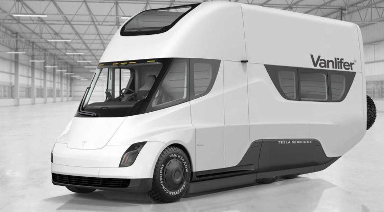 Илон Маск назвал электрический фургон с подзарядкой от солнечных батарей лучшим транспортом для апокалипсиса