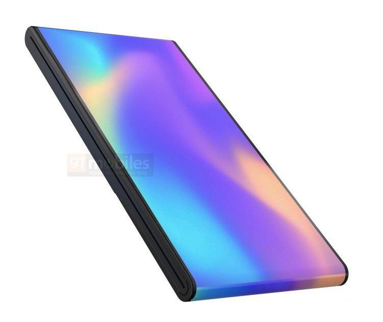 Vivo придумала уникальный смартфон с отгибающимся экраном