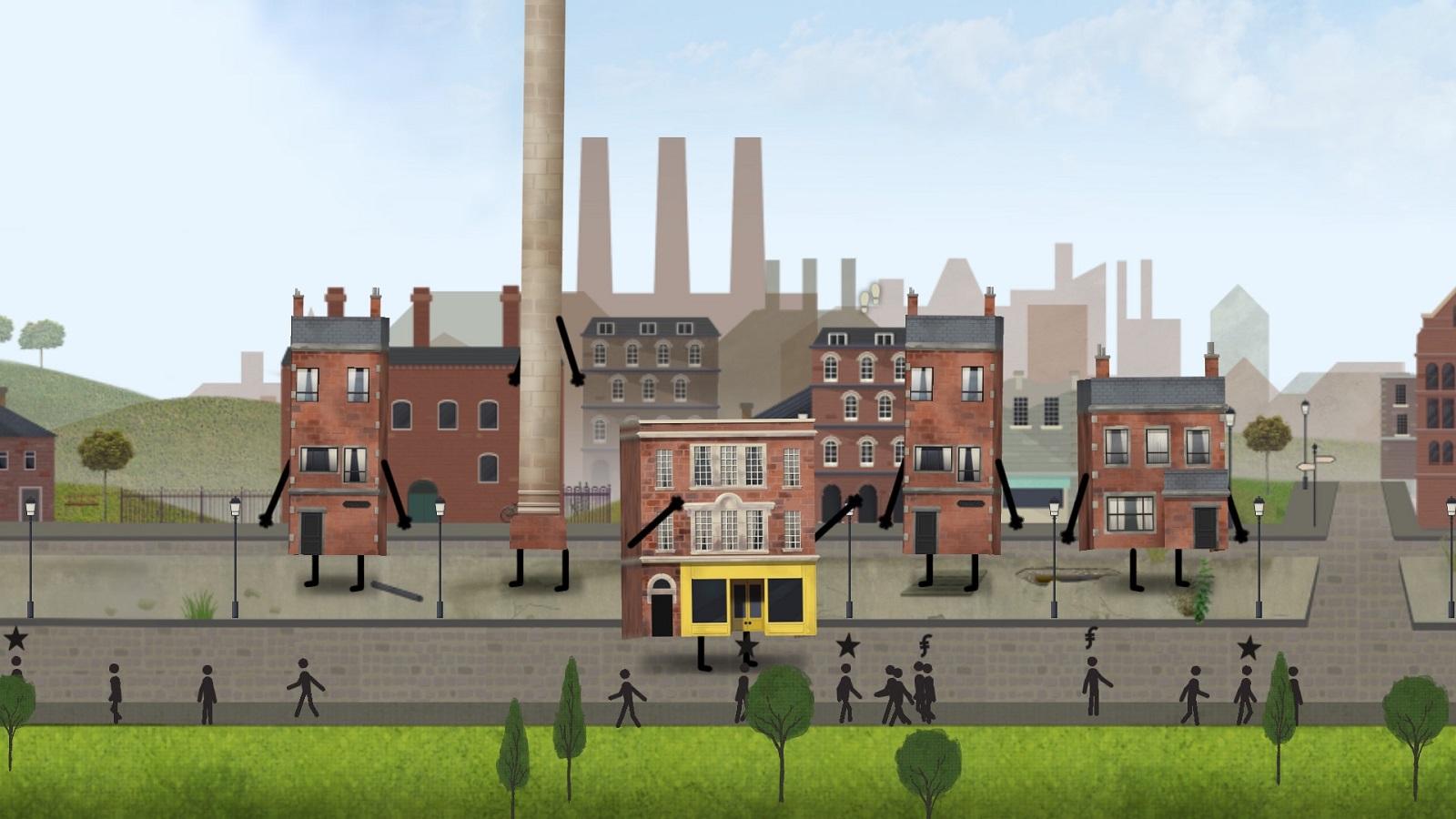 Симулятор управления городом с характером Buildings Have Feelings Too! выйдет в марте