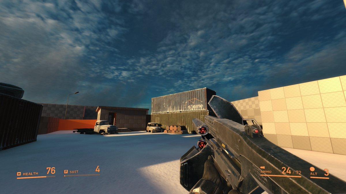 Видео: перестрелки, гравипушка и зимняя локация в геймплейной демонстрации Boreal Alyph — фанатской версии Half-Life 3