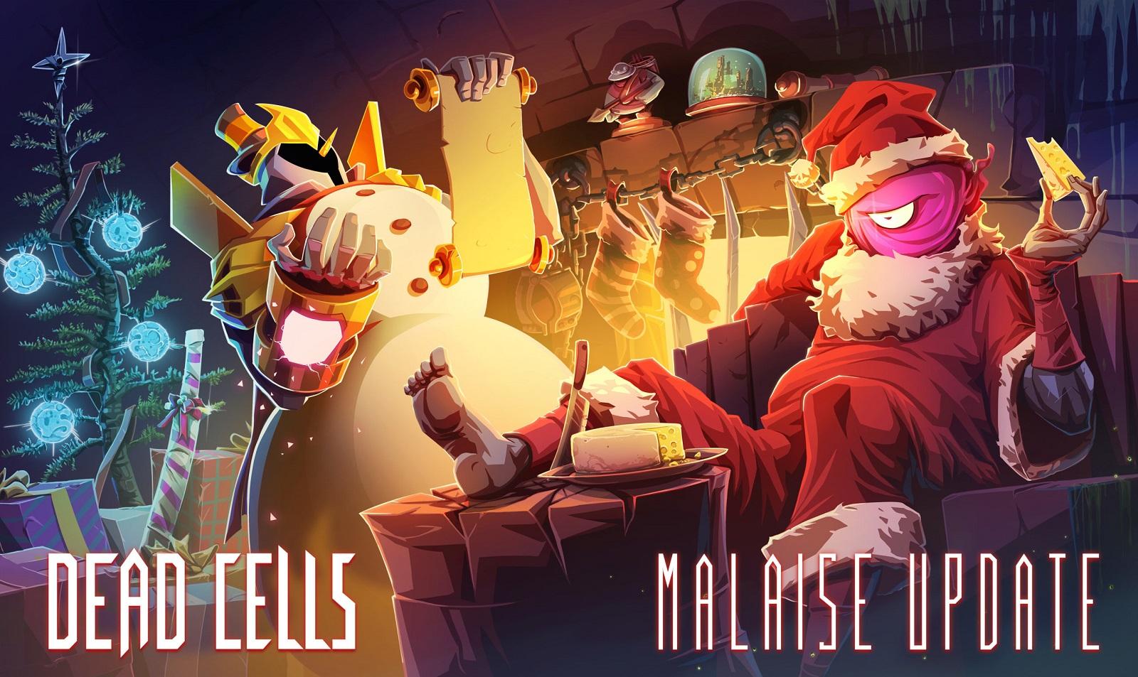 Рождественское обновление Dead Cells наконец добралось до PS4 и Switch