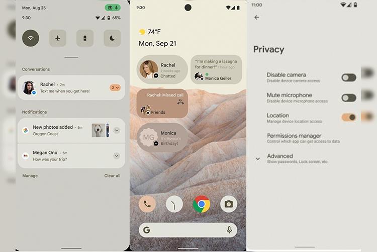 С выходом Android 12 Google может перейти к новым стандартам в дизайне ПО для своей платформы