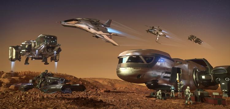Космический симулятор Star Citizen стал доступен для бесплатного ознакомления до 26 февраля