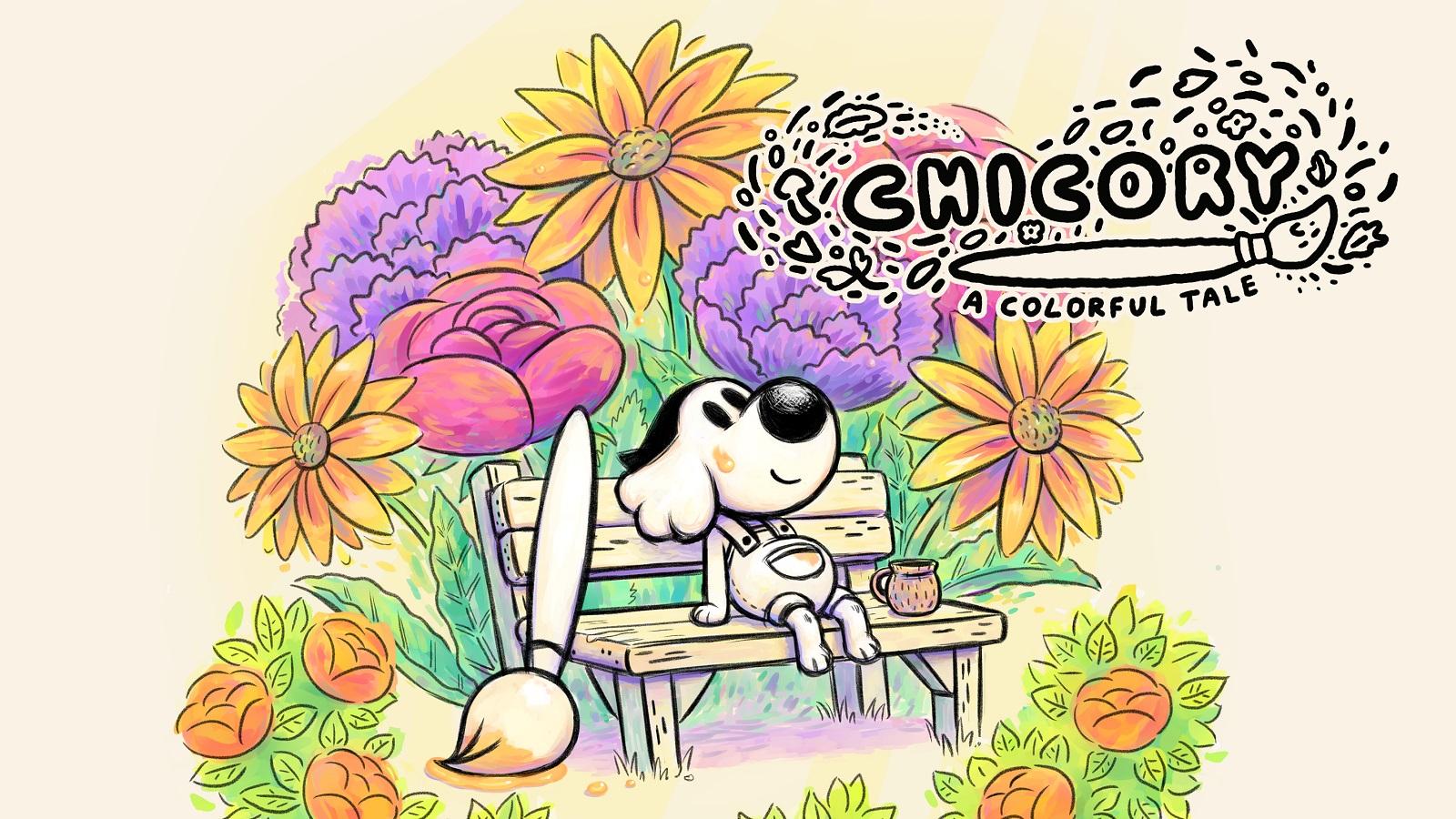 Приключение-раскраска Chicory: A Colorful Tale выйдет на ПК и консолях PlayStation в этом году
