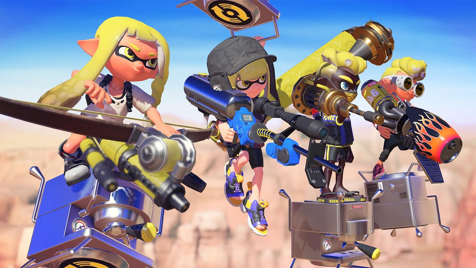 Nintendo анонсировала аркадный сетевой шутер Splatoon 3 — релиз в 2022 году