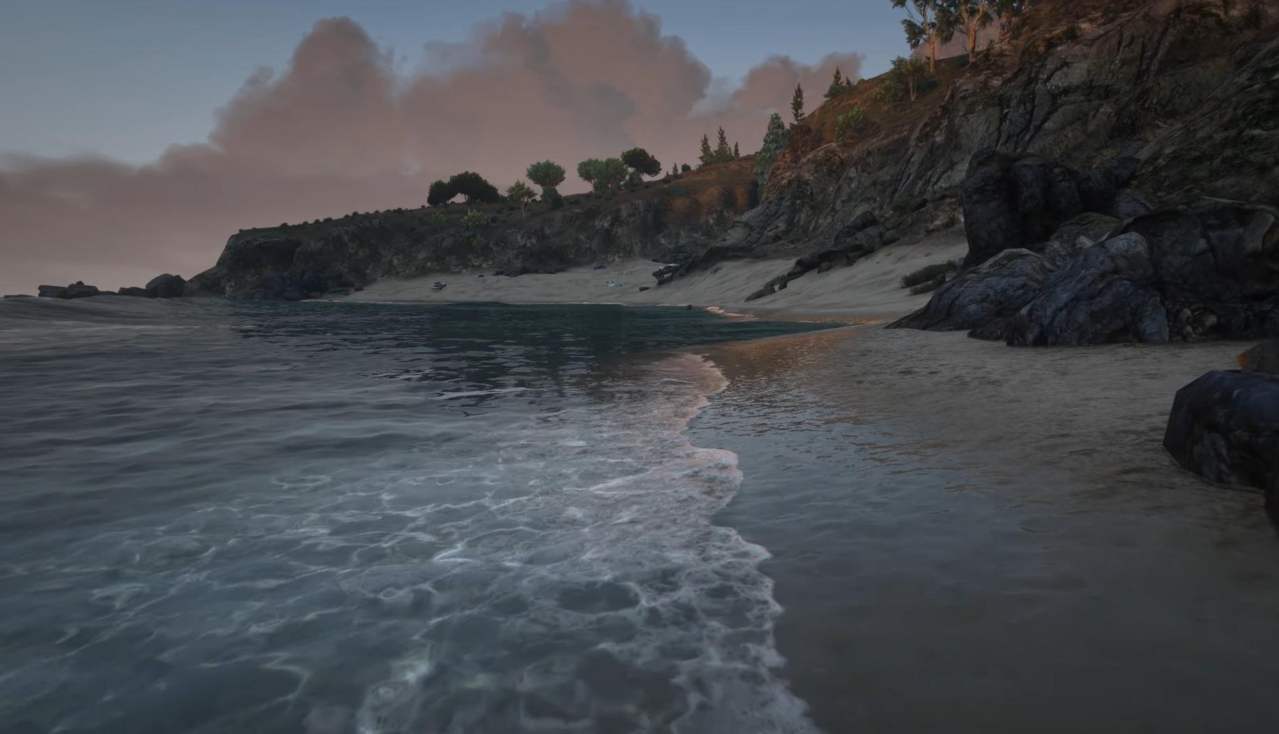 Видео: благодаря модам и разрешению 4К блогер сделал графику в GTA V очень реалистичной