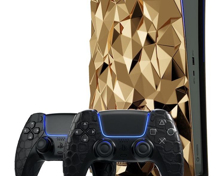 Caviar получила более 1300 заказов на золотую PlayStation 5 стоимостью $500 тыс.