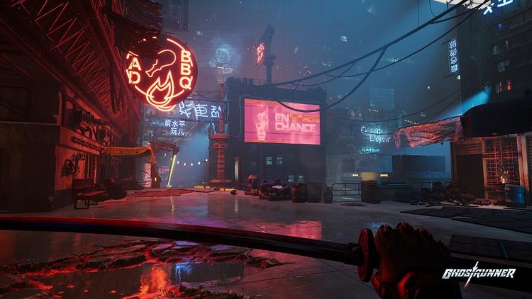 Демоверсия киберпанкового экшена Ghostrunner вышла на PS4, Xbox One и Nintendo Switch
