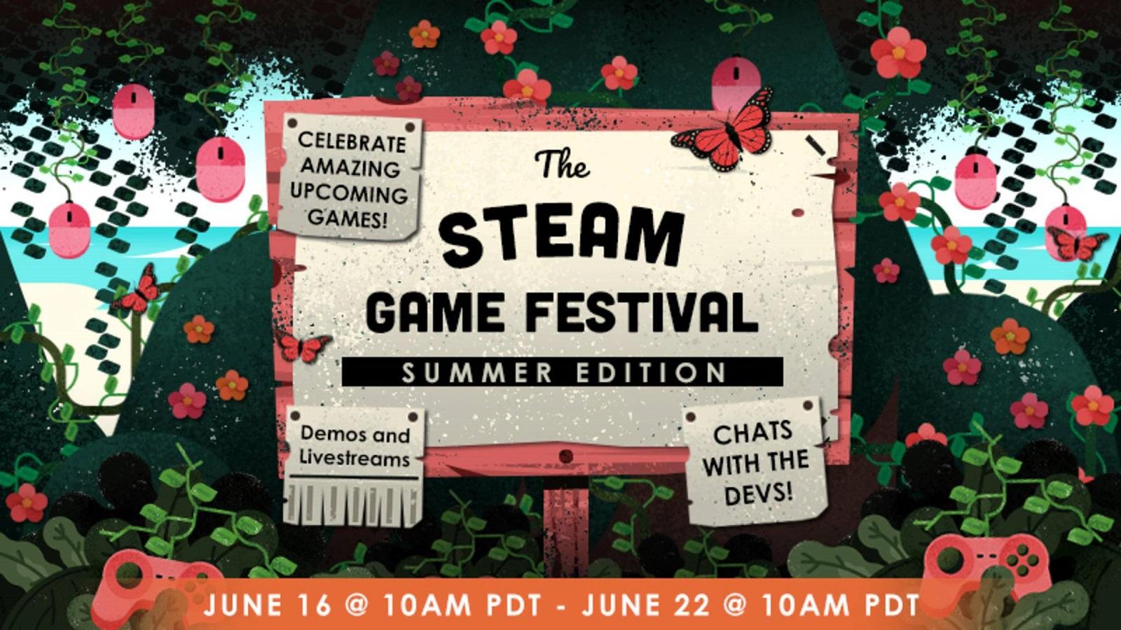 Valve уже определила сроки следующего «Фестиваля игр Steam» — он пройдёт с 16 по 22 июня