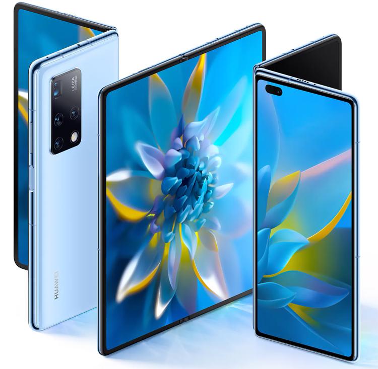 Huawei представила Mate X2 — гибкий смартфон с двумя дисплеями и пятью камерами
