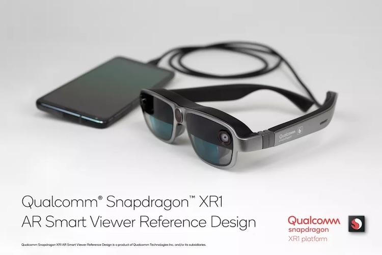 Qualcomm представила эталонный дизайн лёгких AR-очков с подключением к смартфону