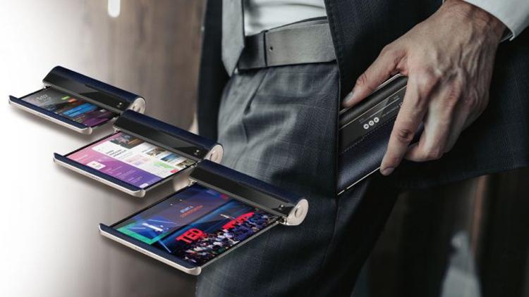 Показан сворачивающийся смартфон Compal Scroll с гибким 10-дюймовым дисплеем