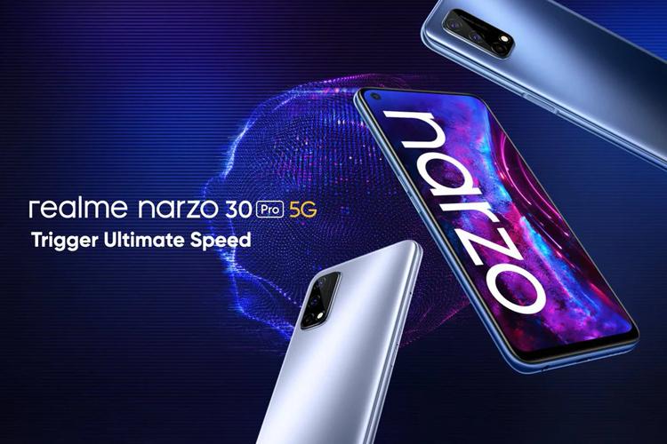 Представлен смартфон Realme Narzo 30 Pro 5G с тройной камерой, 120-Гц экраном и ценой $235
