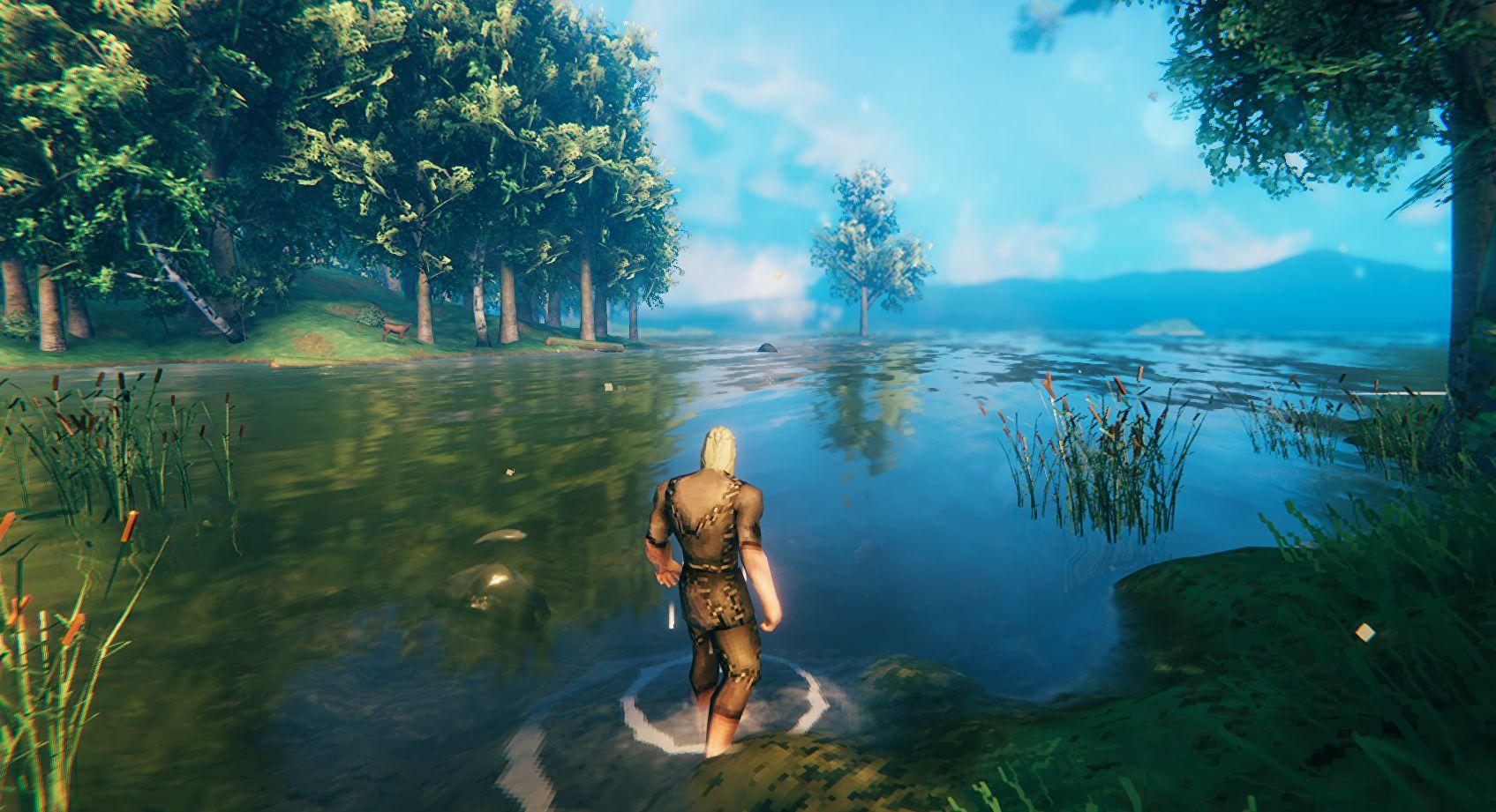 По стопам Тариэля: игроки в Valheim научились пролетать огромные дистанции с риском для жизни персонажа