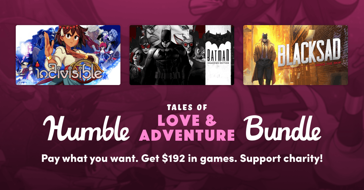 Indivisible, Blacksad: Under the Skin и другие: в Humble Bundle стартовали продажи сборника Tales of Love & Adventure