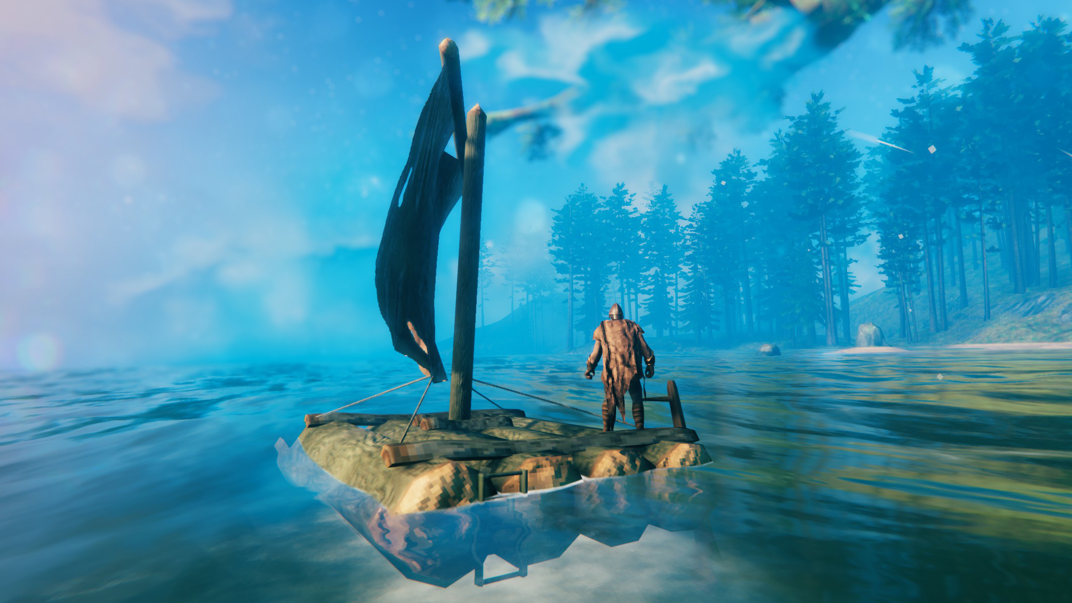 Птицы не воруют суда: разработчики объяснили, почему некоторые игроки видели в Valheim летающие лодки