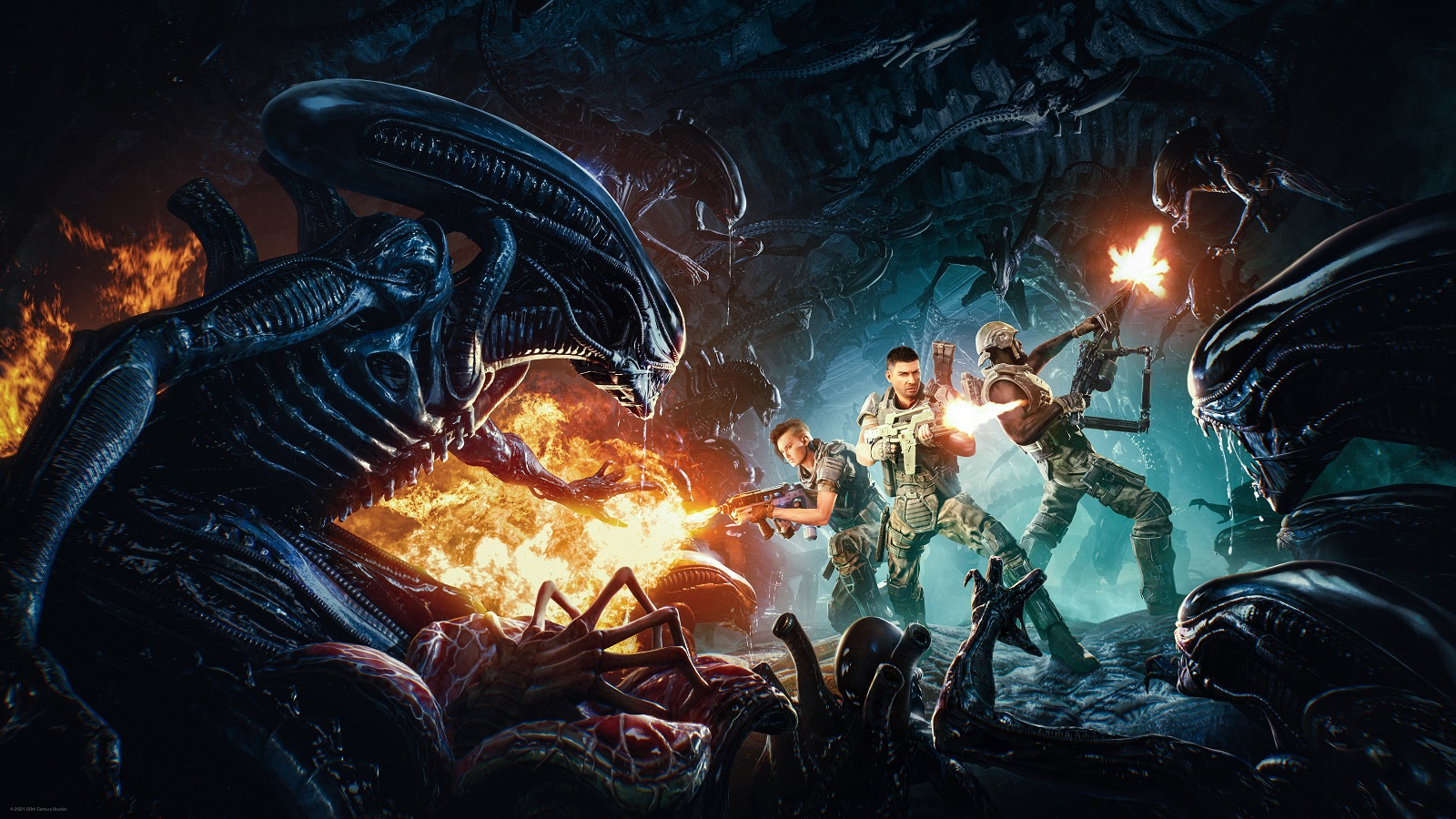 Видео: 25 минут отстрела ксеноморфов в геймплейной демонстрации кооперативного шутера Aliens: Fireteam