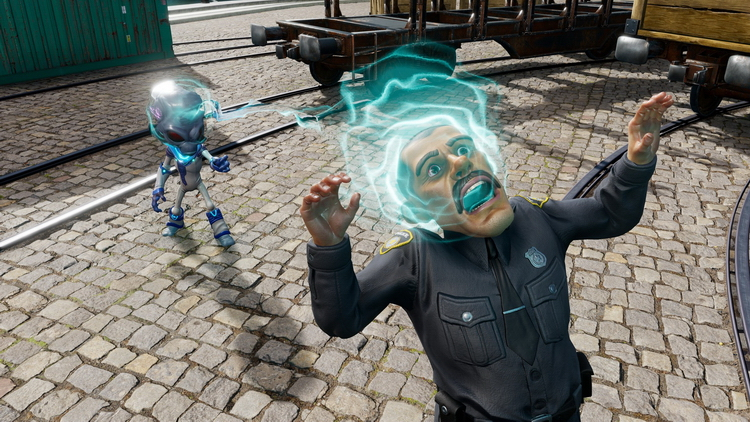 Последний патч улучшил Destroy All Humans! на PS5 и Xbox Series X
