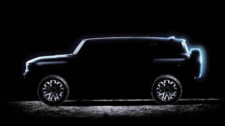 GM покажет 3 апреля полностью электрический внедорожник Hummer EV