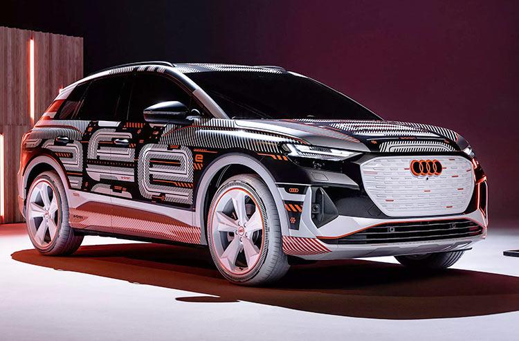 Audi Q4 e-tron получит HUD-дисплей для вывода полезной информации прямо на лобовом стекле