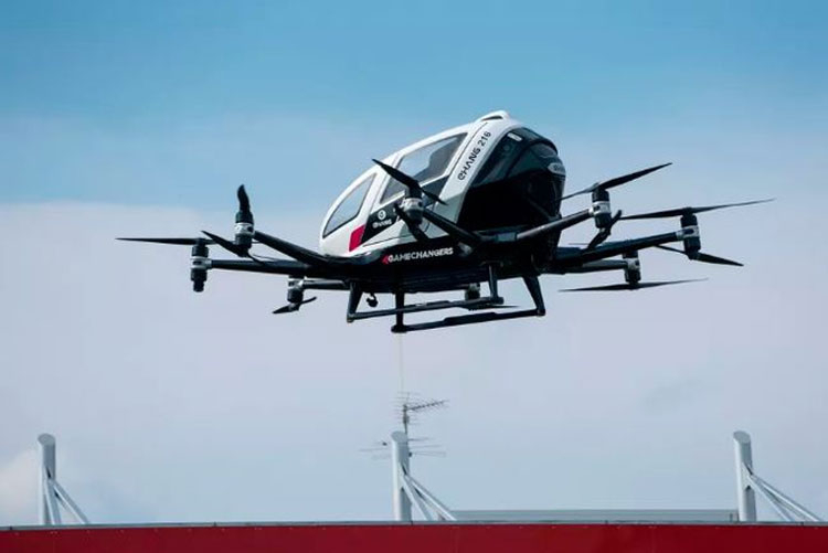 Производитель аэротакси EHang создаст электрический самолёт с дальностью полёта 400 км
