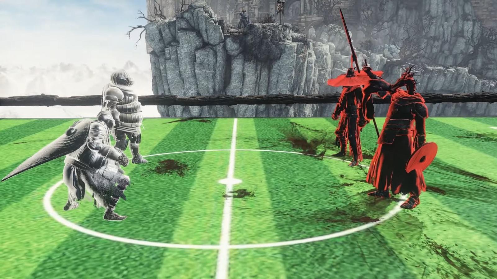 Олимпийские игры Лотрика: недавняя модификация добавила в Dark Souls 3 два спортивных состязания