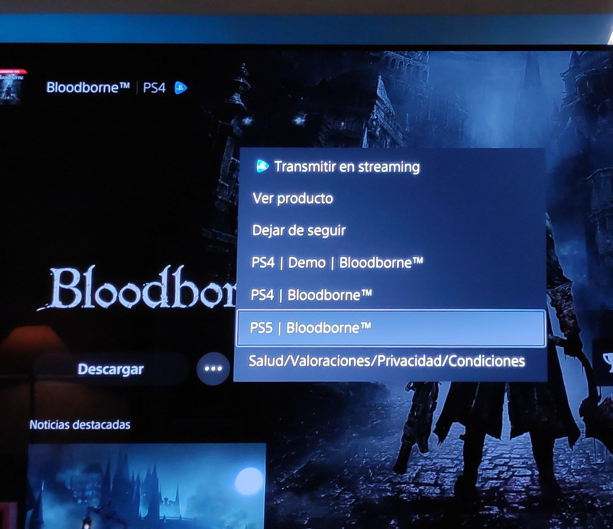Баг или утечка? Игрок обнаружил в PlayStation Store упоминание Bloodborne для PS5