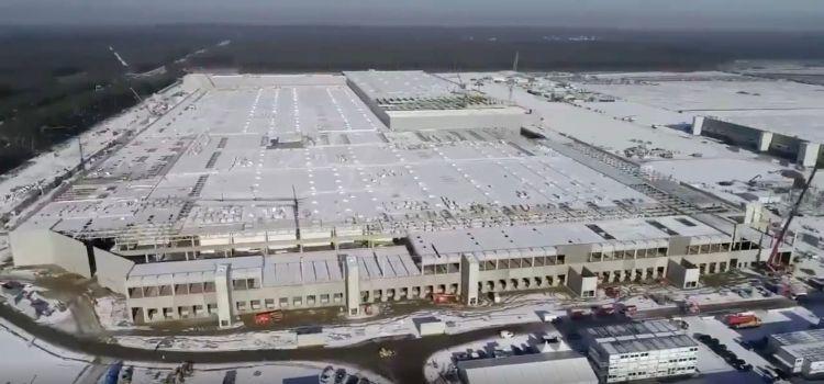 Немецкое предприятие Tesla получит разрешение на осуществление деятельности уже в апреле