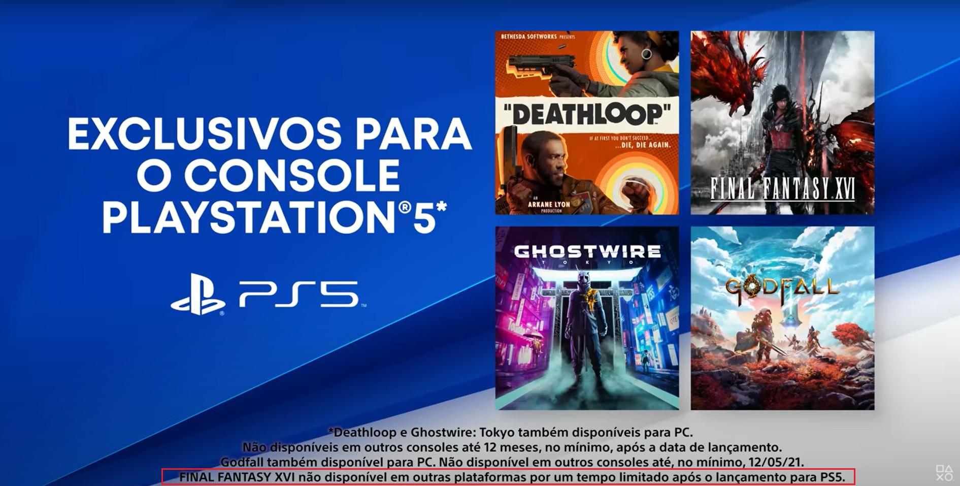 Слухи: Final Fantasy XVI всё-таки выйдет за пределами PlayStation 5