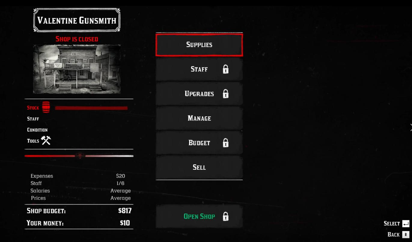 Для Red Dead Redemption 2 вышел мод, который позволяет стать владельцем оружейного магазина