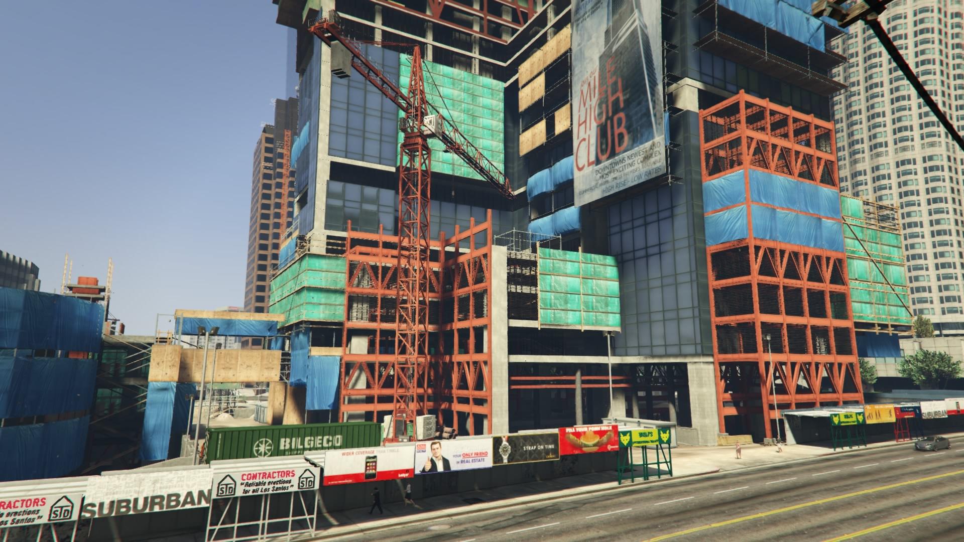 Энтузиасты скоро выпустят мод для GTA V, который завершит строительство Mile High Club и добавит новый контент