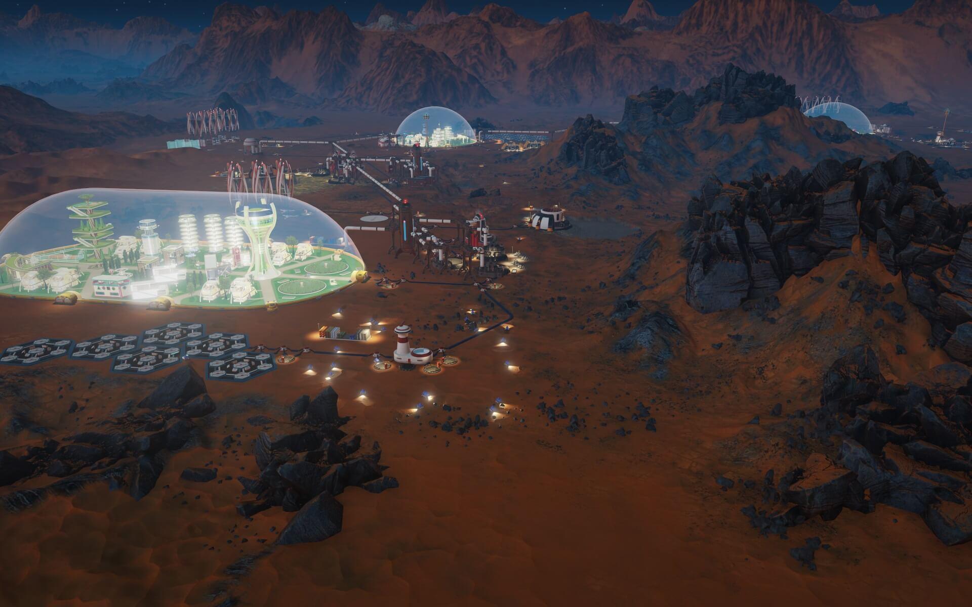 В Epic Games Store проходит раздача Surviving Mars, на очереди — The Fall