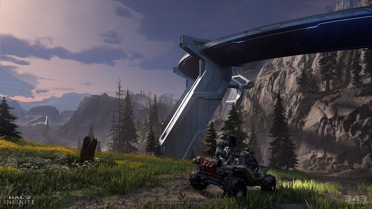Животные в открытом мире, спящие ворчуны и туман: авторы Halo Infinite рассказали об игре