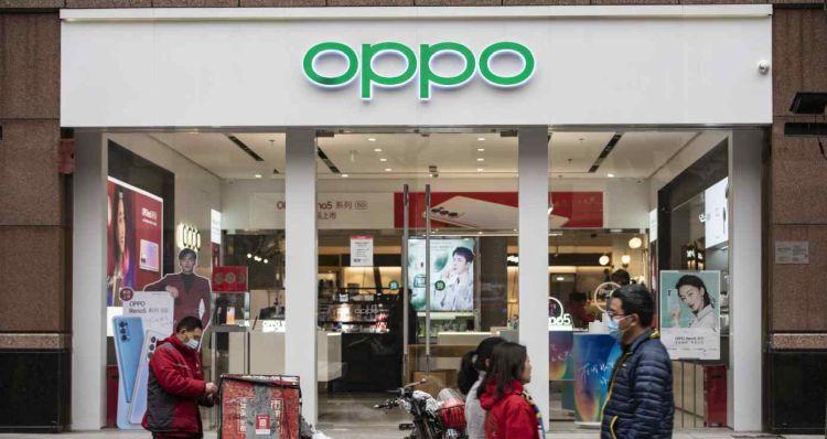 Oppo собирается войти в тройку лидеров сегмента смартфонов
