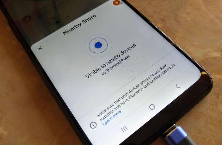 Google улучшит функцию Nearby Share в устройствах на базе Android