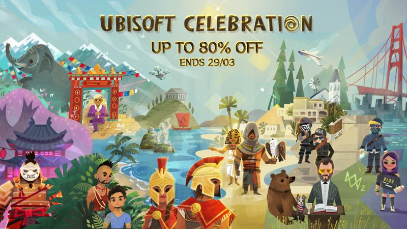 Rainbow Six Siege, Assassin's Creed Odyssey и другие со скидками до 80 %: в Steam началась распродажа игр Ubisoft
