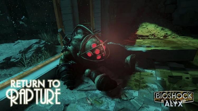 Return to Rapture — фанатский мод на базе Half-Life: Alyx, объединивший миры BioShock и Half-Life