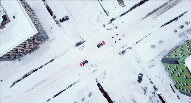 «Яндекса» рассказал, как её робомобили справились с суровыми условиями московской зимы