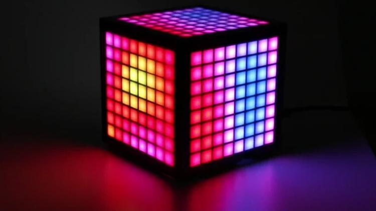 Корпус LumiCube превратит Raspberry Pi в трёхсторонний матричный дисплей с массой сенсоров