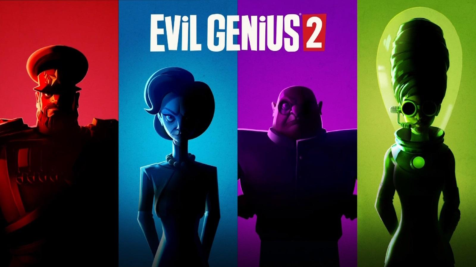 Видео: особенности четырёх стартовых злодейских гениев в Evil Genius 2: World Domination