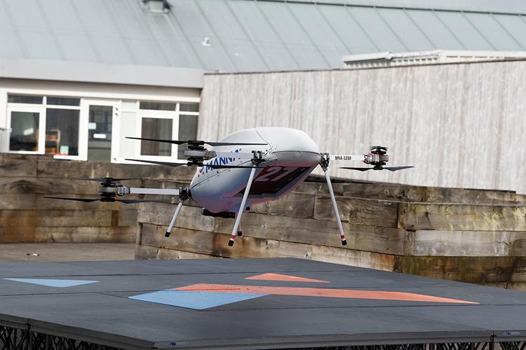 Ирландский интернет-магазин Samsung начнёт доставлять покупки дронами