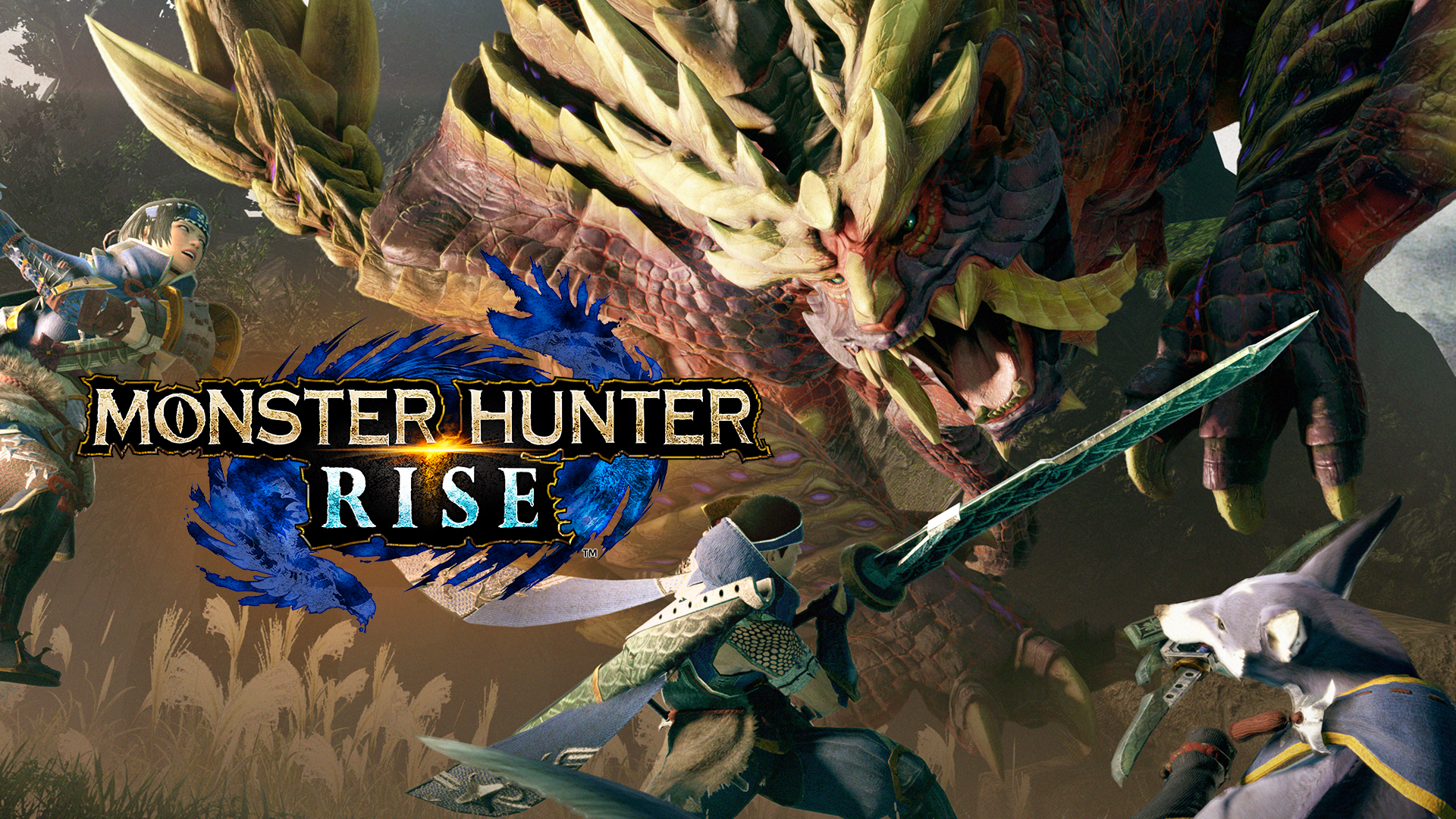 Monster Hunter Rise вышла на Switch: русский трейлер и японская телереклама