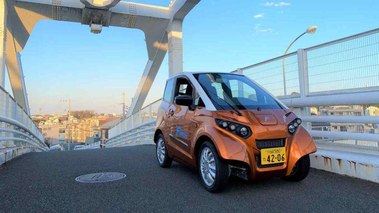 Японский электромобиль для каршеринга за $25 000 умеет плавать